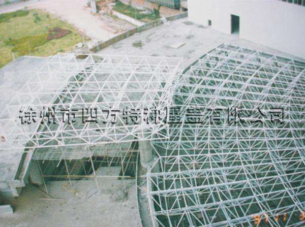 惠州建行网架钢结构工程案例